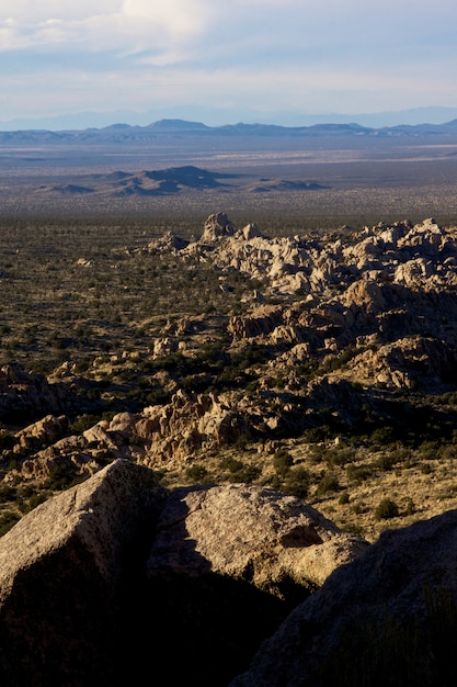Вертикальный снимок пейзажа, полного скал различных форм и размеров в торрес-дель-пайне Бесплатные Фотографии