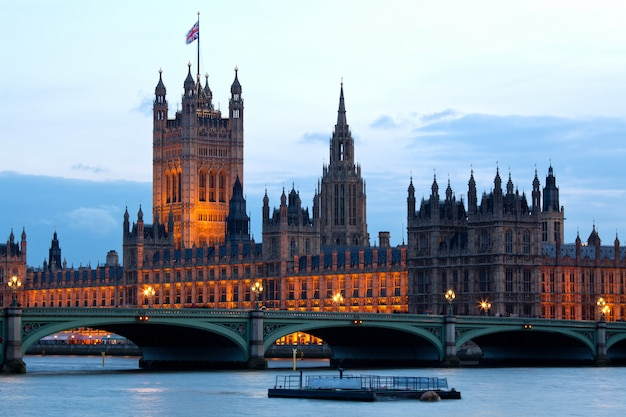 Victoria tower at house of parliament london Premium Photo