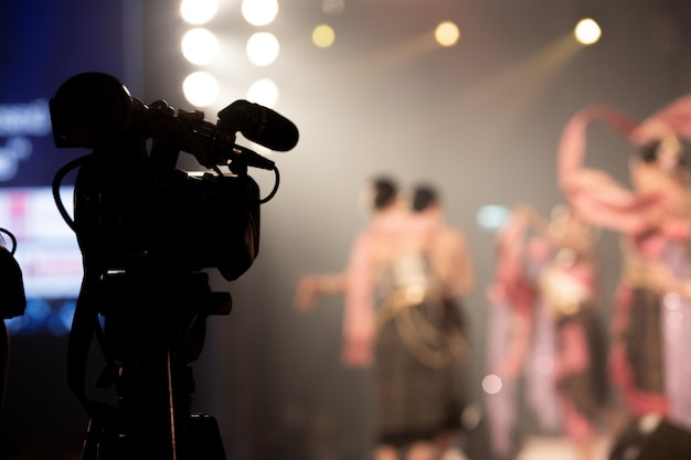 Video production camera social network live filming Premium Photo