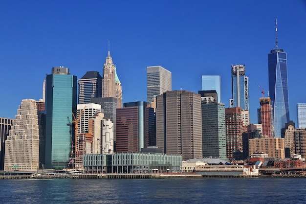 The view on the downtown, new york, united states Premium Photo