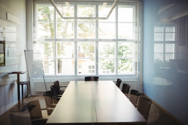 View of empty conference room Free Photo