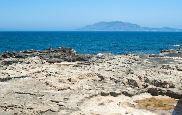 View from favignana island.sicily, italy Premium Photo