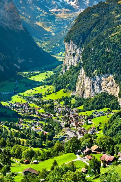 pemandangan alam desa terindah