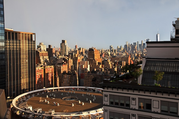 The view on new york, united states Premium Photo