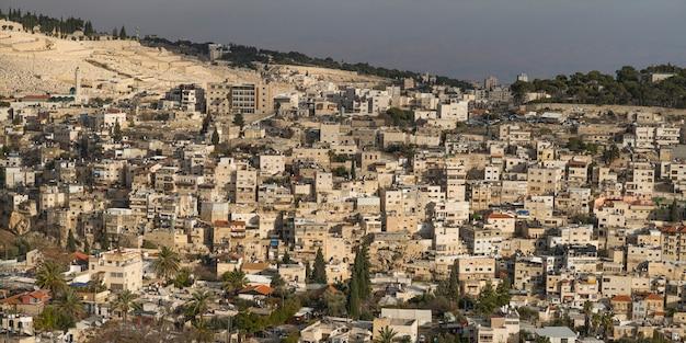 Вид на здания в иерусалиме, израиль Premium Фотографии