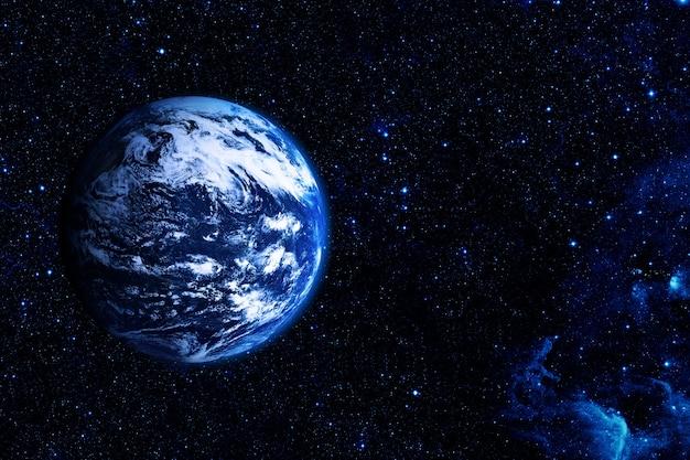 Вид на землю с луны элементы этого изображения предоставлены наса Premium Фотографии