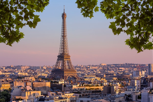 View of paris, france Premium Photo