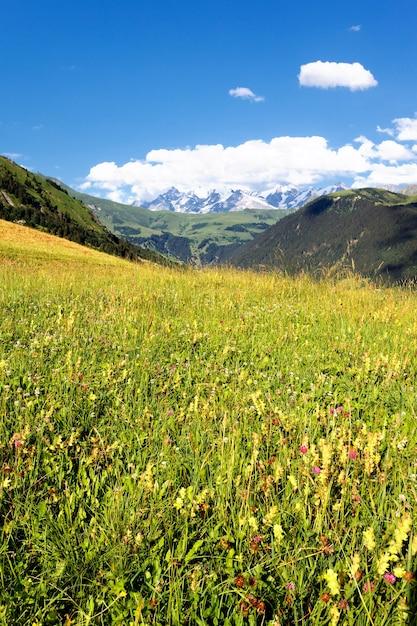 Vista della savoia alpi-europa Foto Gratuite