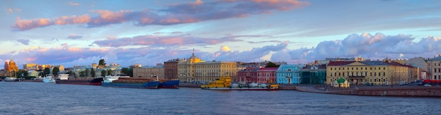 View of st. petersburg  in morning Free Photo