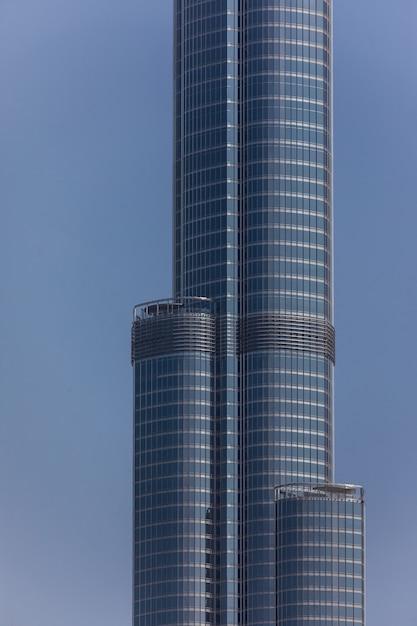세계에서 가장 높은 타워보기 Burj Khalifa, Dubai Uae 무료 사진