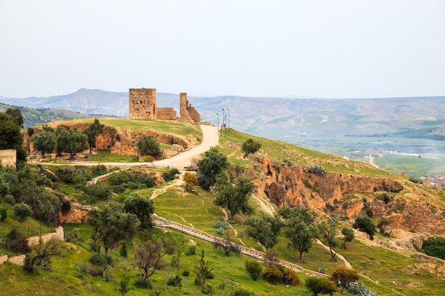 View at the viewpoint in fez, morocco. Premium Photo