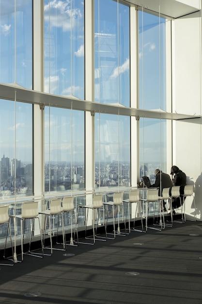 전망대 모리 타워 무료 사진