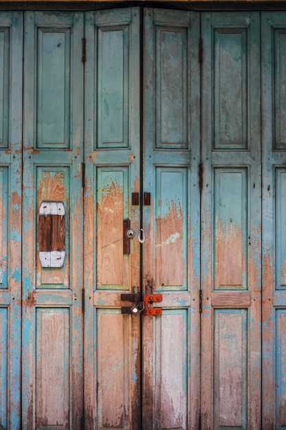 Vintage antique firty door Free Photo