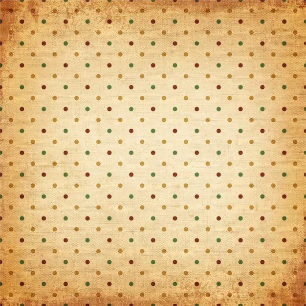 vintage background polka dot pattern old canvas texture