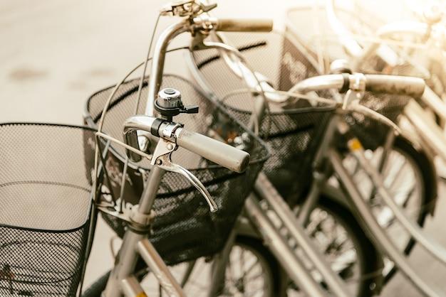 Vintage bicycle Free Photo
