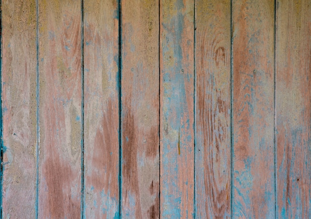 Vintage blue wood texture with natural patterns Photo ...