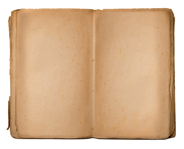 Vintage book with empty space to write Premium Photo