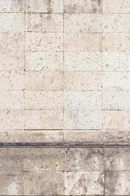 都市の建物の壁のヴィンテージレンガ 無料写真
