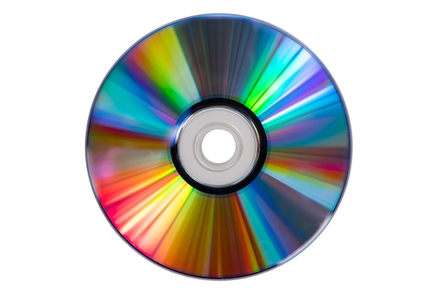 Винтажный cd или dvd диск Premium Фотографии