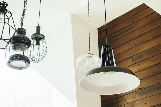 Vintage ceiling light lamp Free Photo