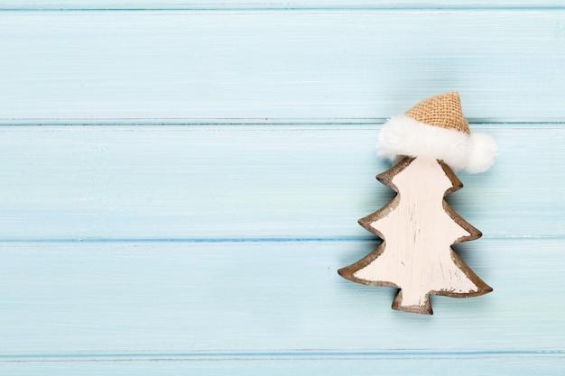 크리스마스 장식으로 빈티지 크리스마스입니다. 프리미엄 사진