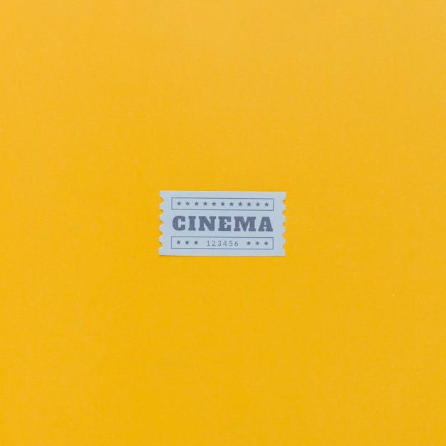 Vintage cinema tickets Free Photo