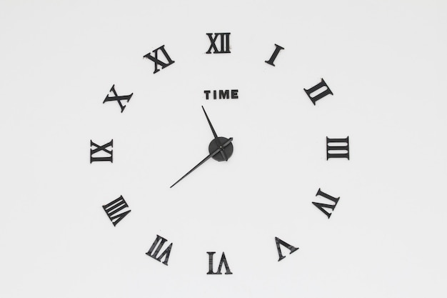 Vintage clocks on wall Premium Photo
