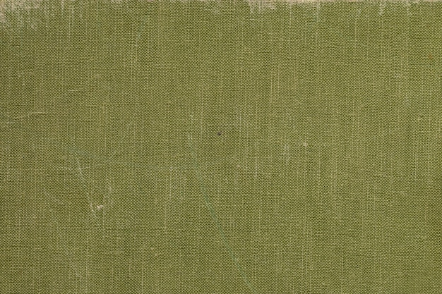 A vintage cloth book cover with green screen pattern Premium Photo