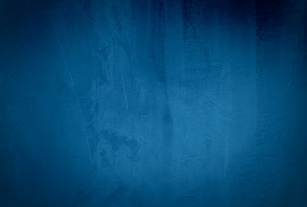 Урожай гранж синий бетонная текстура студия стены фон с виньеткой. Бесплатные Фотографии