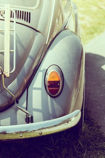 Vintage headlight car Free Photo