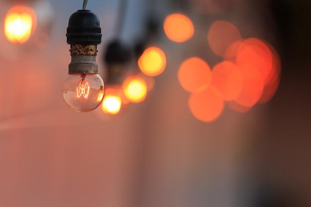 Vintage light bulbs Premium Photo