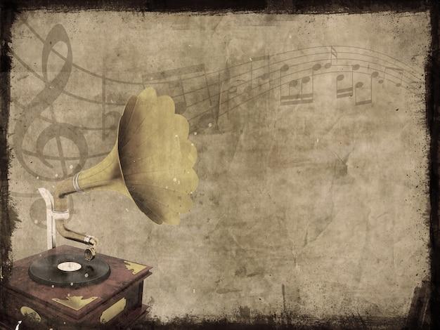 Vintage music Free Photo