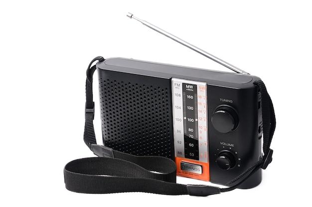 ラジオ番組を聴くためのビンテージラジオ Premium写真