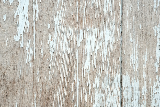 Vintage White Wood Textured Background Detail Close Up Premium Photo