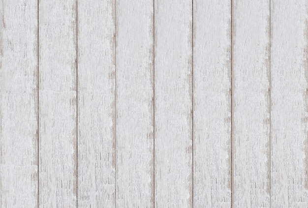 Vintage White Wood Textured Background Premium Photo