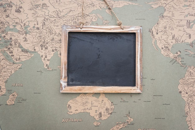 Vintage world map background with slate photo free download vintage world map background with slate free photo gumiabroncs Gallery