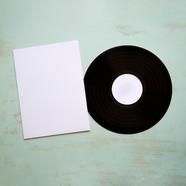 Виниловый и бумажный макет Бесплатные Фотографии