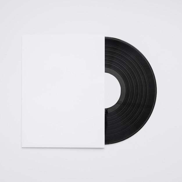 Vinyl mockup Free Photo