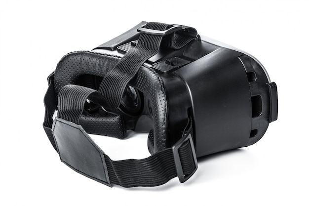 Virtual reality glasses on white background Premium Photo