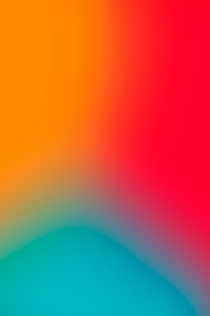 Vivid abstract colors in gradient Free Photo