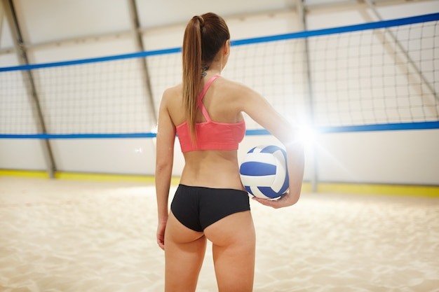 Volleyball player Free Photo