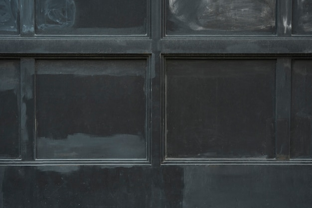 Wall with black panels Free Photo