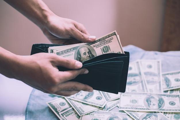 wallet buy debt pay closeup Free Photo