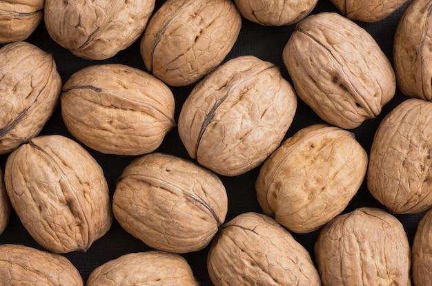 Walnuts in a shell Premium Photo