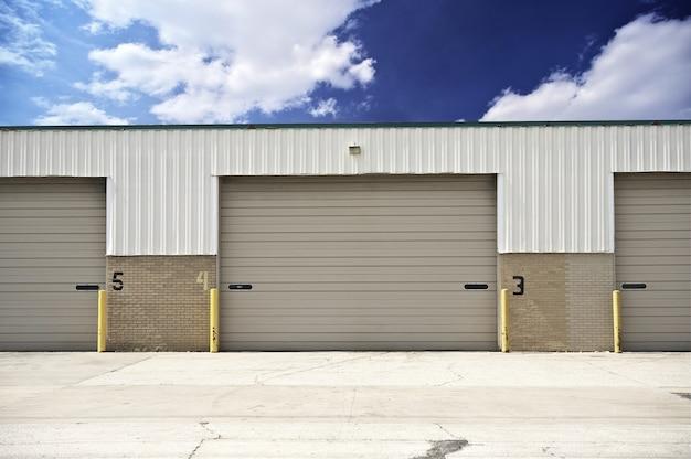 Warehouse entrance Free Photo