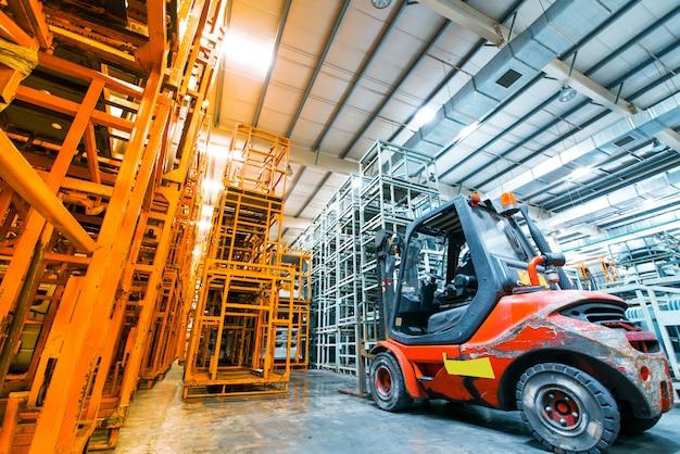 Warehouse interior Premium Photo