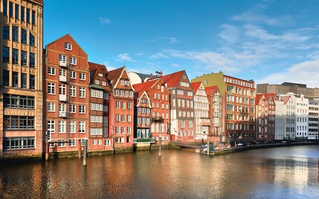 Warehouses in speicherstadt in hamburg, germany Premium Photo
