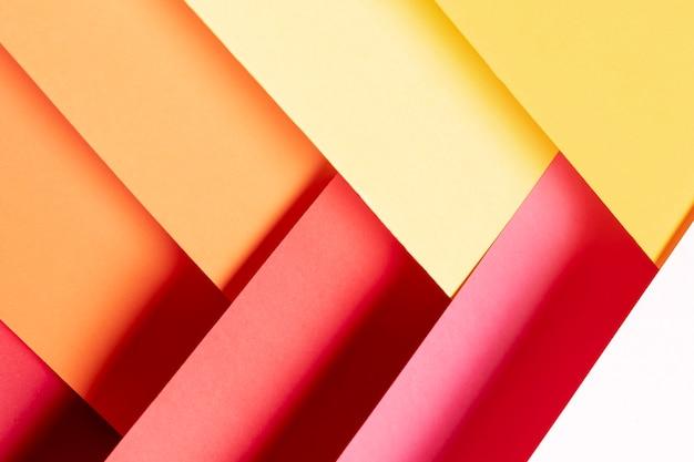 Warm colors pattern close-up Free Photo