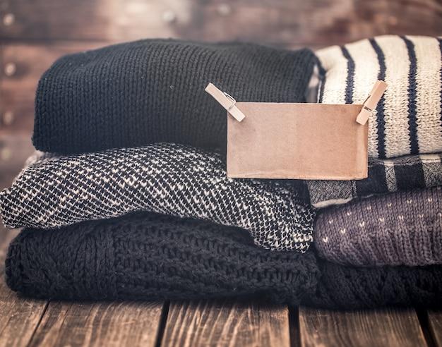 暖かい居心地の良いセーター 無料写真