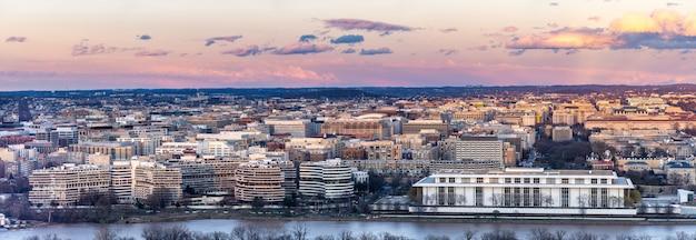 ワシントンdcの日没 Premium写真
